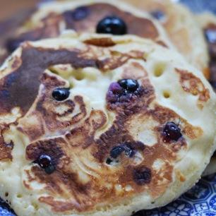 détail des pancakes